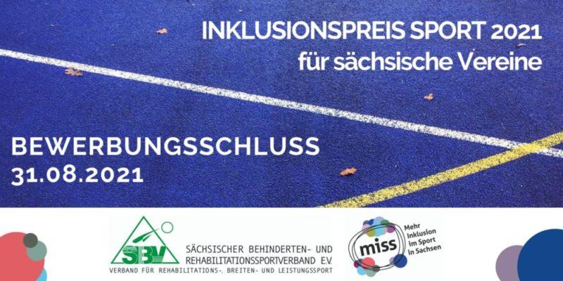 Inklusionspreis Sport 2021 für sächsische Vereine: Das sind die Preisträger